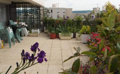 Réfection de l'étanchéité des terrasses privatives avec dalles sur plots et inaccessibles avec gravillons
